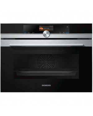 Siemens iQ700 CS656GBS7B Steam Oven, Stainless Steel
