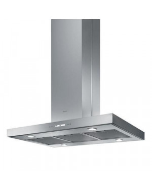 Elica Spot Plus IX/A/90 Cooker Hood, Stainless Steel