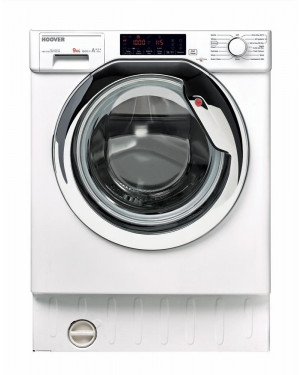 Hoover H-WASH 500 HBWM 916TAHC-80 Integrated 9kg Washing Machine, White