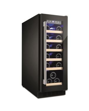 Amica AWC300BL Wine Cooler, Black