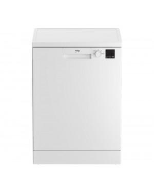 Beko DVN04X20W Full-size Dishwasher, White