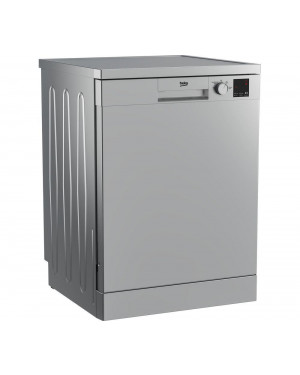 Beko DVN04X20S Full-size Dishwasher, Silver