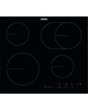 Zanussi OvalZone ZHRN643K Electric Ceramic Hob, Black