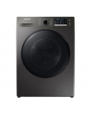 Samsung Series 5 WD90TA046BX Freestanding ecobubble Washer Dryer, 9kg/6kg Load, 1400rpm Spin, Graphite