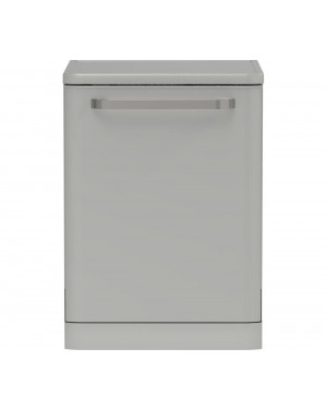 Sharp QW-DX41F47ES Full-size Dishwasher, Silver