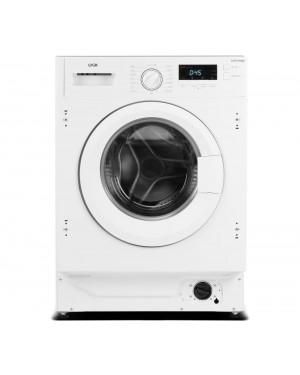 Logik LIW714W20 Integrated 7kg 1400 Spin Washing Machine, White