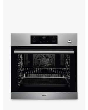 AEG BPS355020M Single Built In Electric Oven, Stainless Steel