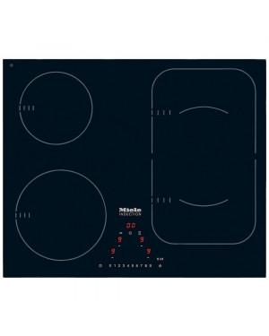 Miele KM6323 Induction Hob - Frameless, Black