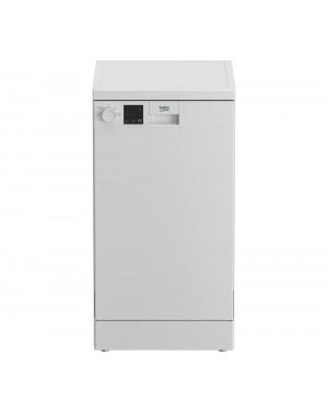 Beko DVS04X20W Slimline Dishwasher, White