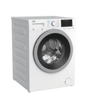 Beko Pro WDX850130W Bluetooth 8 kg Washer Dryer, White