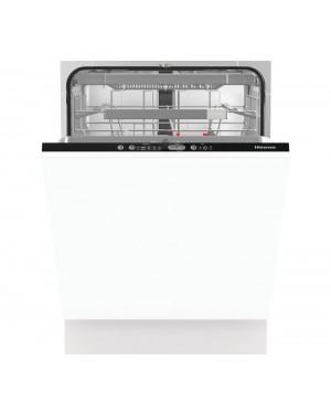 Hisense HV671C60UK Full-size Fully Integrated Dishwasher, Black