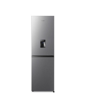 Hisense RB327N4WC1 50/50 Fridge Freezer, Stainless Steel