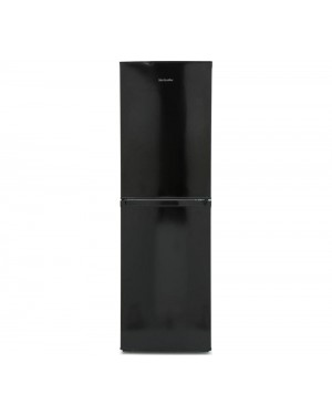 Montpellier MS175BK 50/50 Fridge Freezer, Black