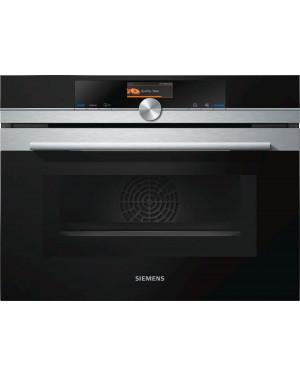 Siemens iQ700 CM656GBS6B Compact Oven with Microwave, Black