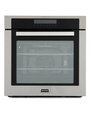 Stoves SEB602MFC Single Built In Electric Oven, Stainless Steel