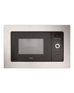 CDA VM550SS 17L 700W Slim Depth Built-in Standard Microwave Stainless Steel