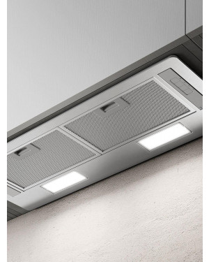 Elica ERA-LUX-SS-80 71.4cm Deluxe Canopy Cooker Hood, Stainless Steel