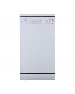 Essentials CUE CDW45W20 Slimline Dishwasher, White