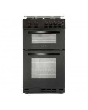 Montpellier MDG500LK 50 cm Gas Cooker, Black