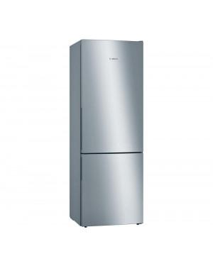 Bosch Serie 6 KGE49AICAG Freestanding 70/30 Fridge Freezer, Stainless Steel