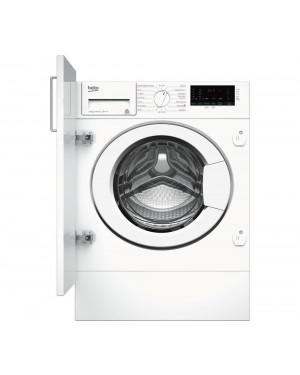 Beko Pro WIX845400 8 kg 1400 Spin Integrated Washing Machine, White