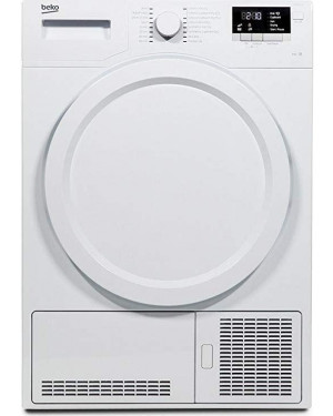 Beko DCX83100W 8kg Freestanding Condenser Tumble Dryer, White