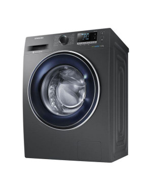 Samsung ecobubble WW90J5456FX 9 kg 1400 Spin Washing Machine, Graphite