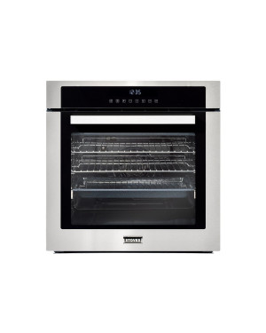Stoves SEB602TCC Single Built In Electric Oven, Stainless Steel