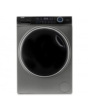 Haier I-Pro Series 7 HW100-B14979S 10 kg 1400 Spin Washing Machine, Graphite