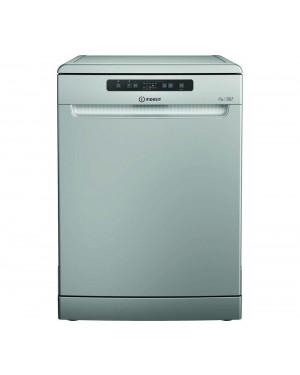 Indesit DFC 2B+16 S UK Full-size Dishwasher, Silver