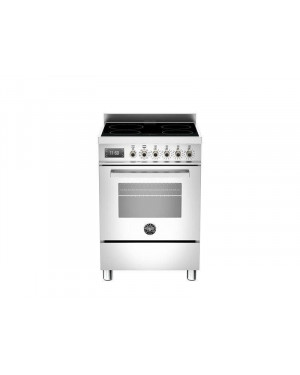 Bertazzoni PRO604IMFESBIT 60cm Professional Electric Cooker Induction Hob, White