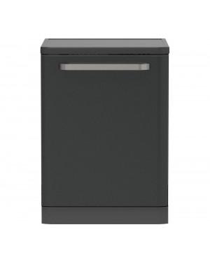 Sharp QW-DX41F47EA-EN Full Size Dishwasher, Dark Stainless Steel