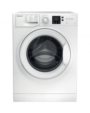 Hotpoint NSWR 943C WK UK N 9 kg 1400 Spin Washing Machine, White