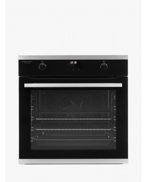 John Lewis JLBIOS641 Single Electric Oven, A Rating, Black