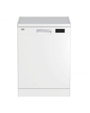 Beko DFN16X21W Full-size Dishwasher, White