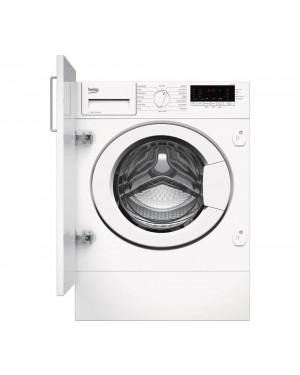 Beko WTIK74111 Integrated 7 kg 1400 Spin Washing Machine, White