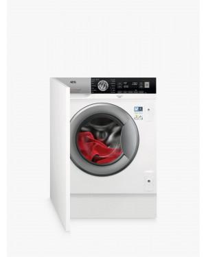 AEG Series 8 L7FC8432BI Integrated 8 kg 1400 Spin Washing Machine, White