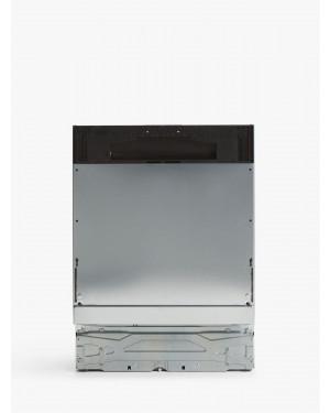 John Lewis JLBIDW1319 Integrated Dishwasher, A++, Black Panel