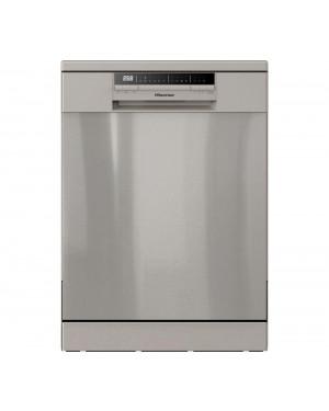 Hisense HS60240XUK Full-Size Dishwasher, Stainless Steel