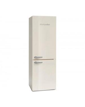 Montpellier Retro MAB386C 60/40 Fridge Freezer, Cream