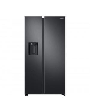 Samsung RS8000 RS68N8330B1/EU American-Style Fridge Freezer, Black Steel