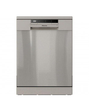 HS60240XUK Full-Size Dishwasher, Stainless Steel