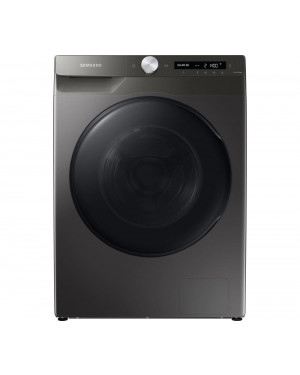 Samsung Series 5+ WD90T534DBN Freestanding ecobubble Washer Dryer, 9kg/6kg Load, 1400rpm Spin, Graphite