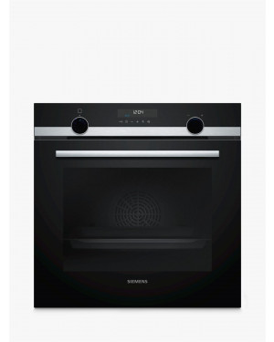 Siemens HB578A0S6B Single Built In Electric Oven, Black & Chrome