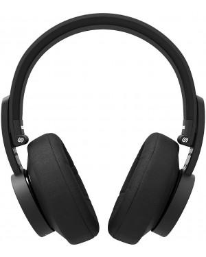 Urbanista New York Bluetooth Over Ear Headphones, Active Noise Cancellation, Dark Clown Black