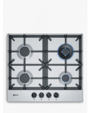 Neff T26DS59N0 Gas Hob, Stainless Steel