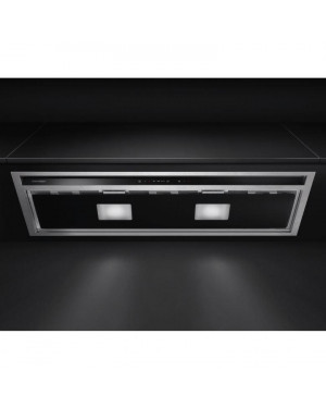 Fisher & Paykel HP90iHCB3 Built-in Integrated Cooker Hood, Black & Silver