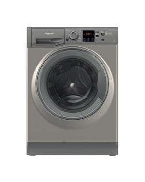 Hotpoint Core NSWR 963C GK UK N 9 kg 1600 Spin Washing Machine, Graphite