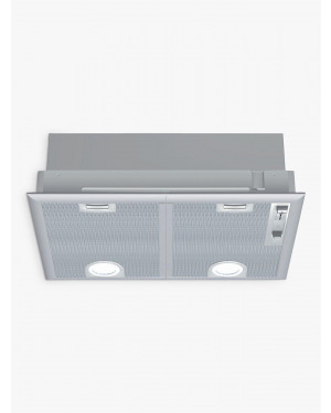 Neff D5655X1GB 53cm Canopy Cooker Hood, Silver