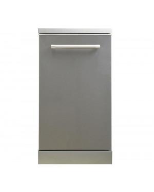 Kenwood KDW45X20 Slimline Dishwasher, Inox